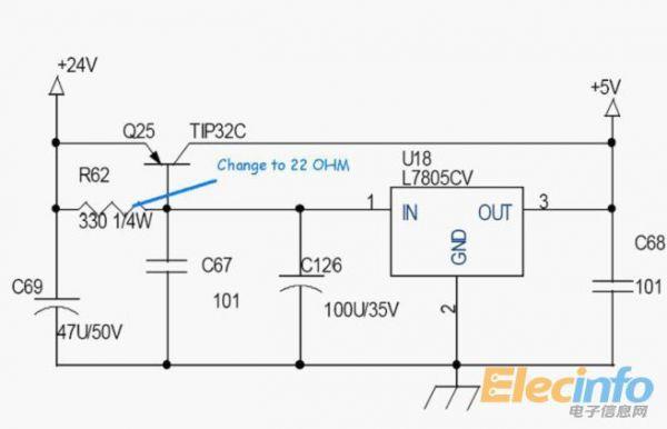 输出过流保护电路,输出短路保护电路等