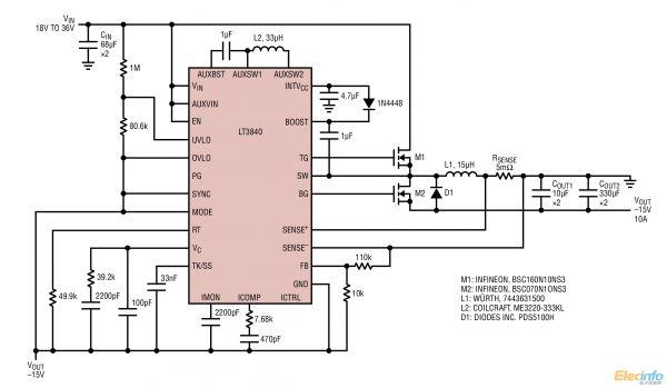 rds(on)   mosfet 的大型 n 沟道栅极驱动器可实现高电流应用.