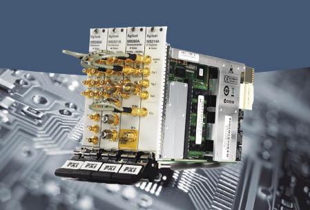 安捷伦推出更快速的射频信号生成和分析产品