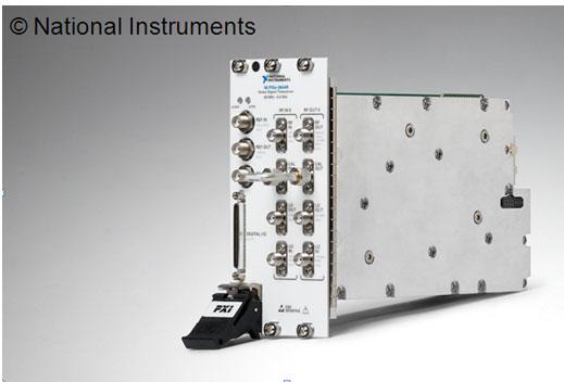 NI发布全球首台射频矢量信号收发仪