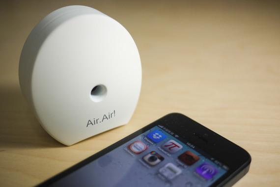 在室内监控粉尘的空气质量红外传感器