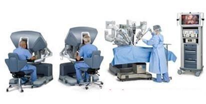 达芬奇手术机器人系统通过机器手臂实现远程控制