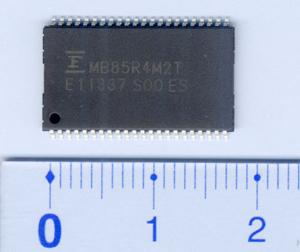 富士通推出全新4 Mbit FRAM芯片MB85R4M2T