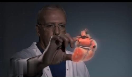 高科技现身全新3D全息技术让医生模拟操刀练习