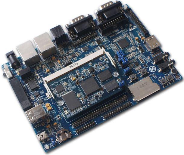米尔科技推第一款国产ARM Cortex-A5工控板