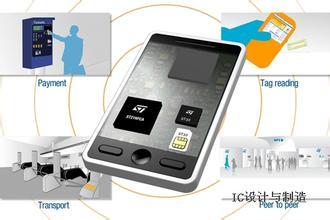 ST推出新的嵌入式RFID芯片 扩大NFC应用