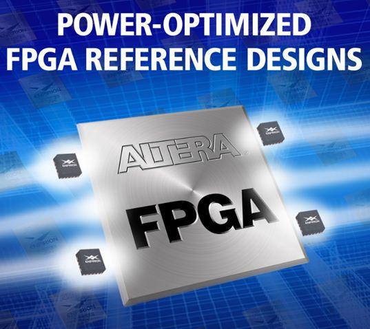 Altera推出电源优化的FPGA参考设计缩短开发时间