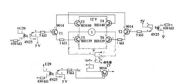 基于机电控制中H型驱动电路详解