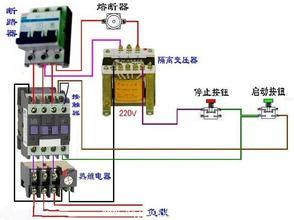 经典教学:几款常用的电机控制线接线图