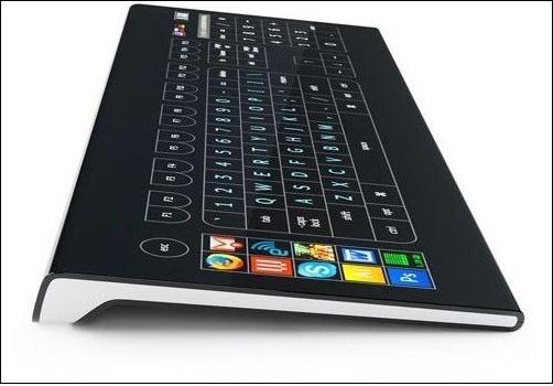 键盘还能看视频?传感器显示键盘来满足