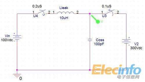 在rcd钳位电路中二极管d的选择(二)