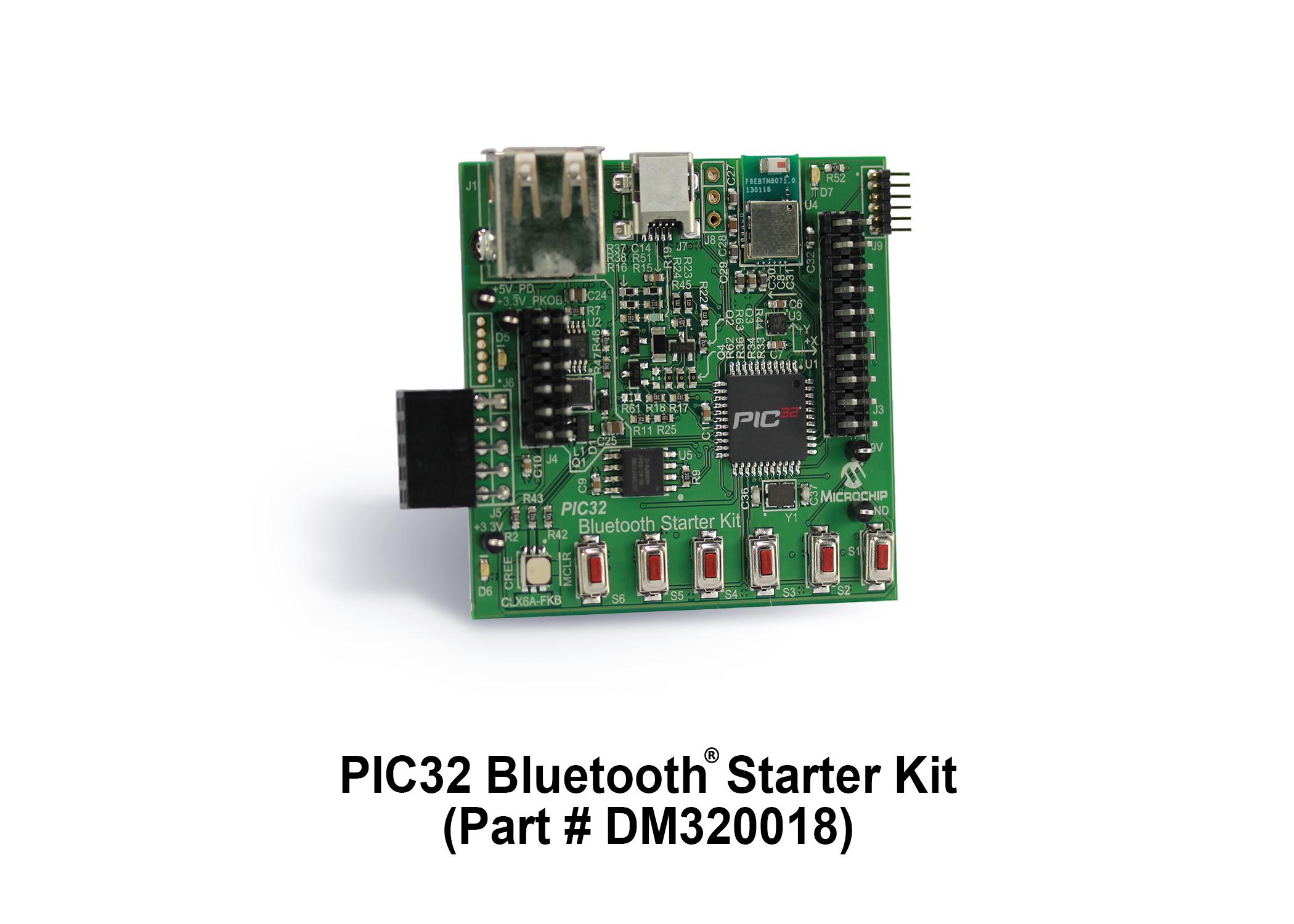 Microchip推出PIC32蓝牙®入门工具包
