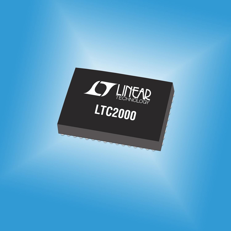 凌力尔特推出2.5Gsps数模转换器LTC2000