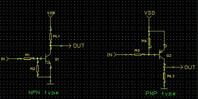 三极管组成的TTL开关电路原理