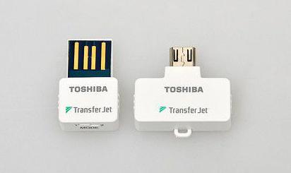 东芝TransferJet试用 数据秒传带你飞