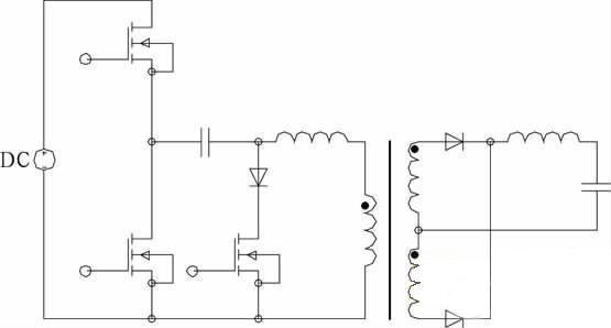 半桥DC-DC变换器的PWM控制方法