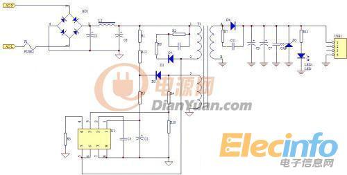 一起设计psr原边反馈开关电源变压器-电源网