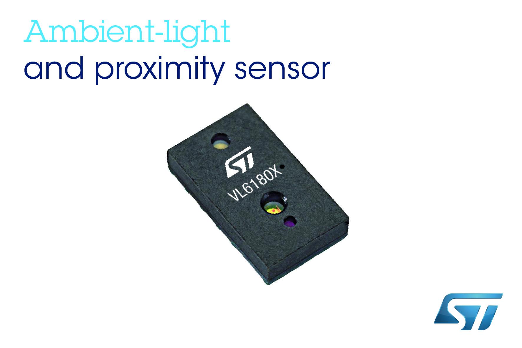 意法半导体推出新款高精度光学测距模块