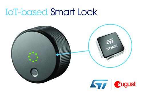 ST微控制器助力August智能门锁系统