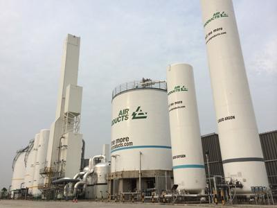 空气产品公司西安工厂为三星芯片厂提供气体服务