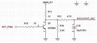 提高PWM频率来减少低电闪屏现象详解