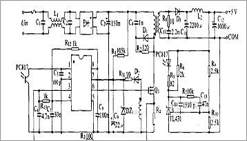 UC3842引脚的作用及与占空比的关系