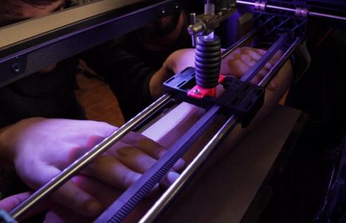 """""""纹身""""机械化?3D打印来帮忙"""