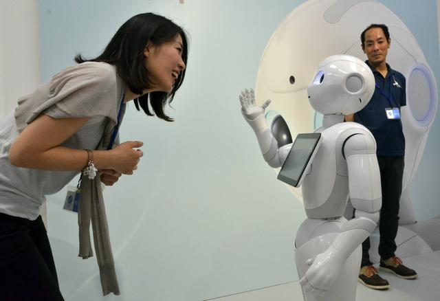 日本量产服务智能机器人 准备投放中国市场