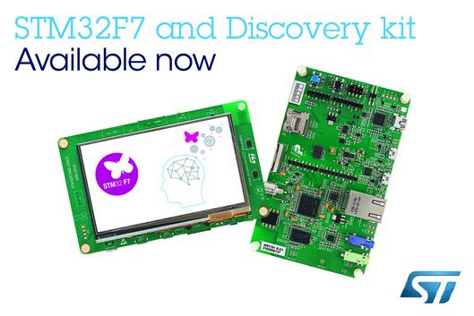 ST首款基于ARM Cortex-M7的微控制器量产