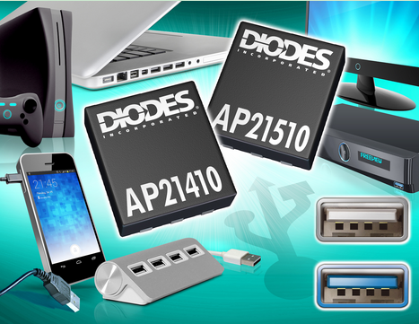 Diodes 0.2A功率开关可承受热插拔USB负载