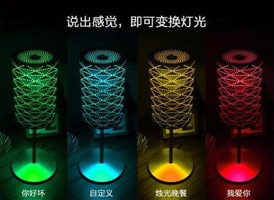 云知声联合有巢智能推出新型语音智能台灯