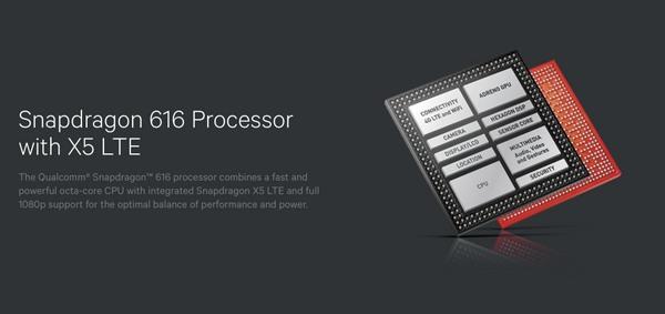 高通公司全新推出骁龙616载波聚合处理器