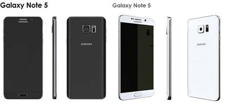 三星Note 5高清3D渲染定型照近日曝光