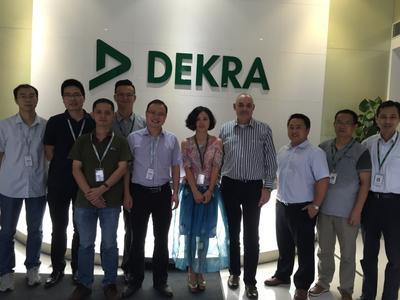 中兴通讯授予DEKRA德凯获得供应商认证