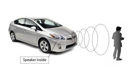 日产汽车宣布开启电动汽车行人预警项目研发