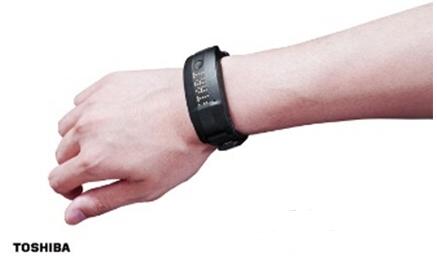 东芝公司推出腕带型人体检测传感器新产品