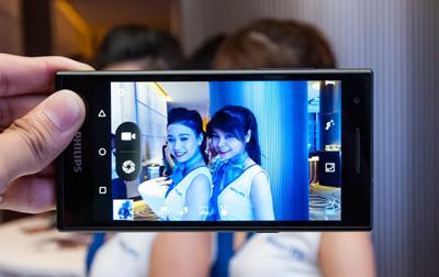 飞利浦宣布面向亚洲市场推出新款自拍手机