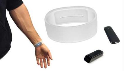 看普通弹性硅胶腕带是如何变成智能手环的