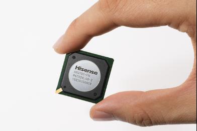 海信集团推出国内首款自主研发彩电芯片