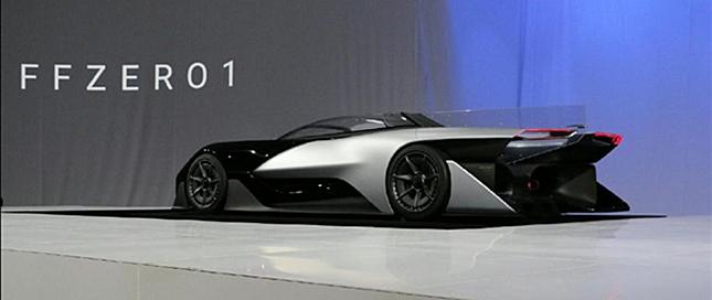 乐视电动汽车CES2016首曝 未来感设计拒绝丑陋