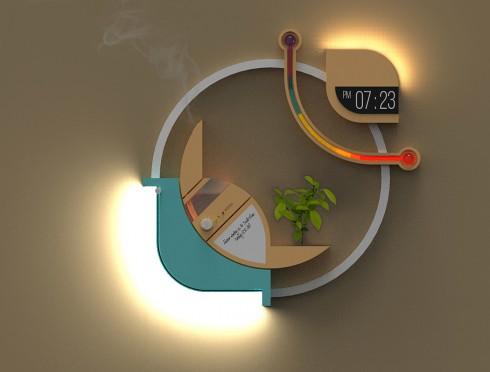 科技有意思 不想当加湿器的照明灯不是好闹钟