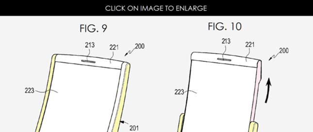大屏手机已OUT 三星申请折叠屏专利