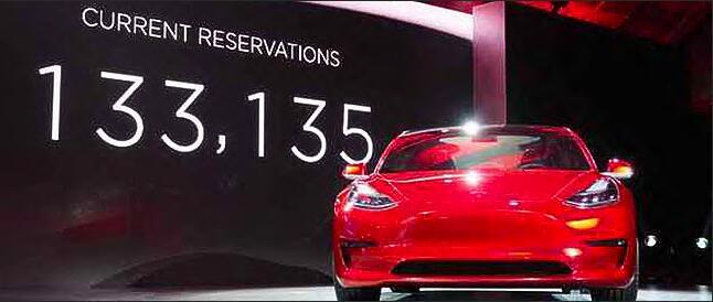 新品狂销30万辆背后 特斯拉不仅做电动汽车
