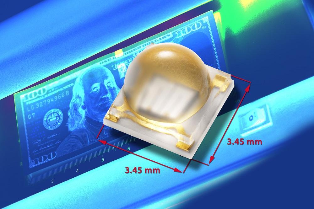 Vishay陶瓷基底UV LED具有超长使用寿命