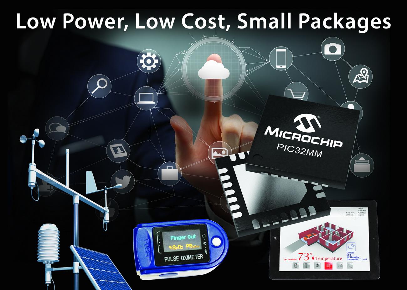 Microchip PIC32系列再添新成员