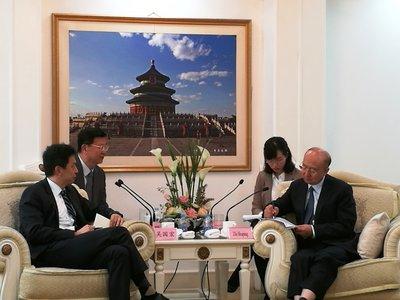 SGS集团首席执行官访华会见质检总局领导