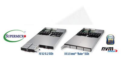 美超微推出PB级1U服务器和JBOF