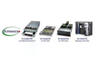 美超微推出最广泛的GPU优化系统组合