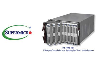 美超微为英特尔推出新的企业级八端口服务器