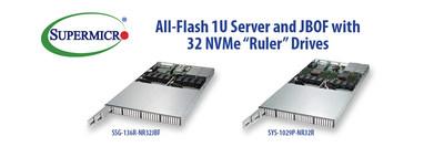 美超微推出新款全闪存1U服务器